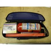 """Аварийный комплект """"СТАНДАРТ 3S+"""" (синяя нейлоновая сумка, огнетушитель ОП-2(з), аптечка, знак авари"""