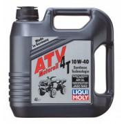ATV 4T Motoroil 10W-40 (4л) — НС-синтетическое моторное масло для 4-тактных квадроциклов